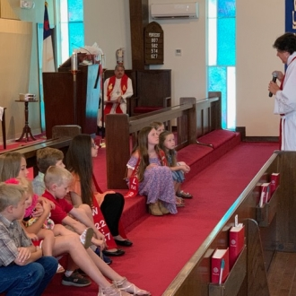 Children's Message with Rev. Kris Totzke